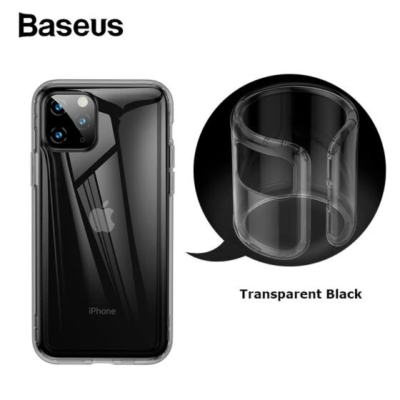 Baseus Safety Airbags protaction Case for iPhone 11/11Pro/11 Pro Max 2019 Shockproof soft silicone case cover