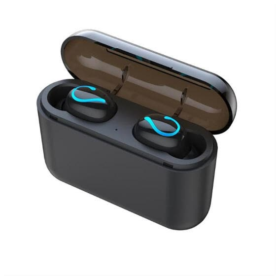 Shop Hqb Q32 Bluetooth 5 0 Wireless Earphones Tws Water Resistant Noise Reduction Stereo Earbuds With Mic Charging Case Online From Best Headphones On Jd Com Global Site Joybuy Com