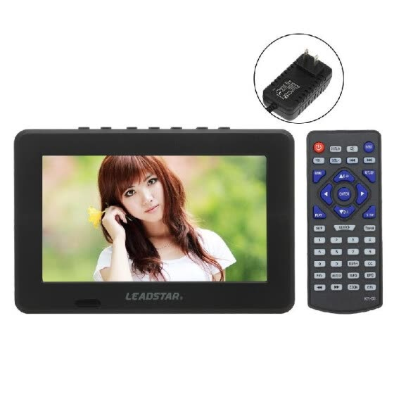 LEADSTAR Mini 7 inch ATSC Digital Analog Television 800x600 Resolution Portable Video Player Support PVR USB TF Card 800mah Batter