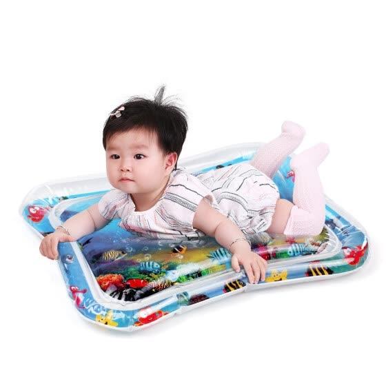 Надувной Детский Водяной Коврик Младенца Tummy Time Playmat Малышей Развлечения Активный Игровой Центр