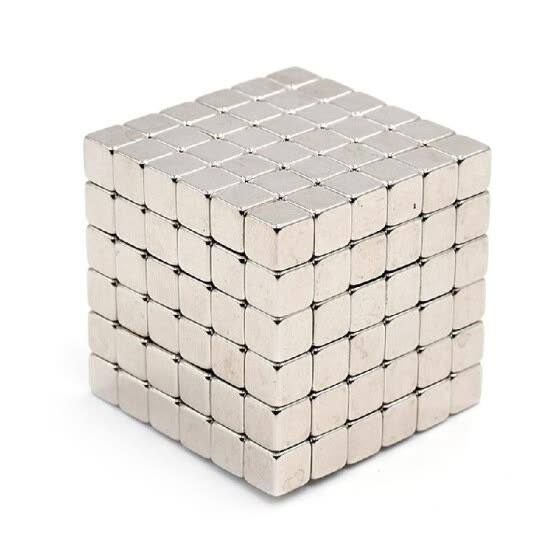 5mm 216 PCS Magnetic Cube Magnets Office Toy Magnetic Sculpture Gift for Intellectual Development Stress Relief