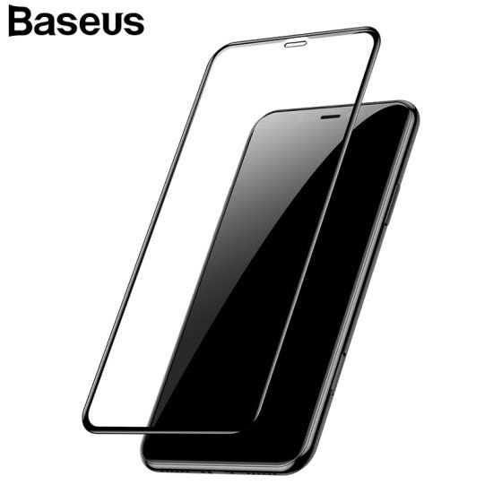 Baseus 0.3mm 3D full Screen Tempered Glass for iphone XS XR, XS Max Phone Protect
