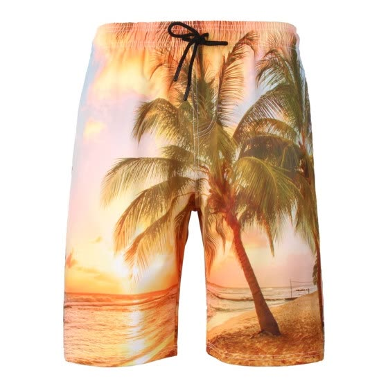 Tailored Men's Summer New Style Fashion 3D Printed Shorts Recreational Sports Beach Pants