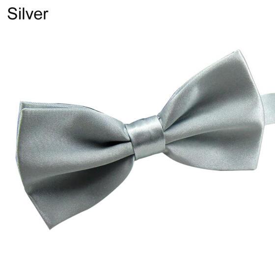Wedding Ties Men Adjustable Satin Tuxedo Classic Party Novelty Bow Tie Necktie