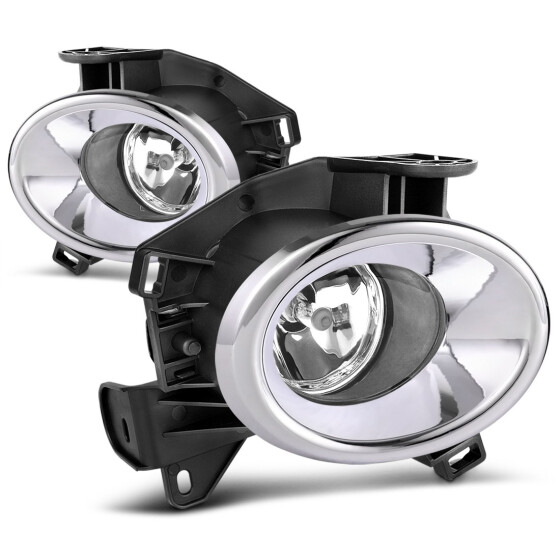 For 2012-2013 Toyota Camry Assembly Chrome Cover Bumper Fog lights+Switch//Bulbs