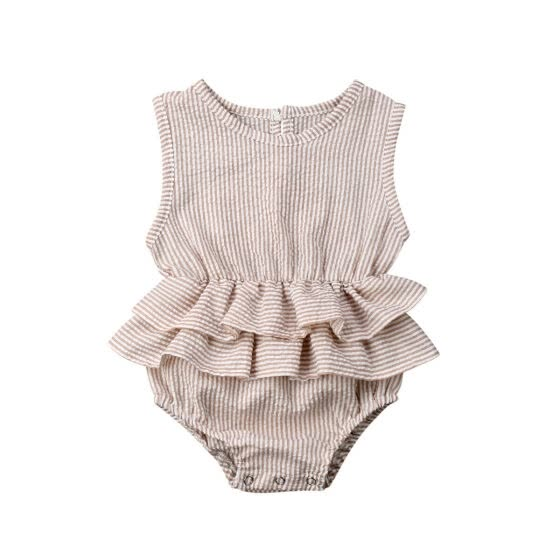 New Summer Newborn Kid Baby Girl Clothes Sleeveless Romper Tutu Dress 1PC Outfit