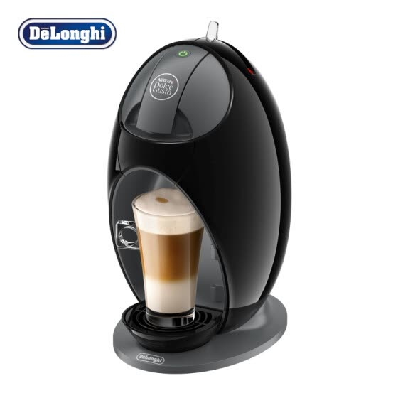 Delonghi coffee machine European imports 15bar pump pressure Italian-style capsule Jovia Xiaolong egg hot and cold fancy drink EDG250.B Fantasy black