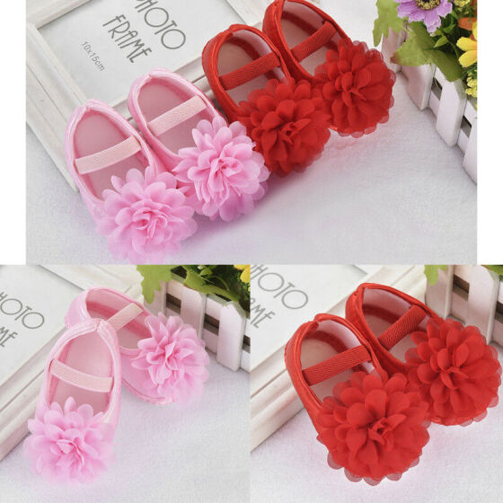 Baby Kids Girl Princess Sandals Sneakers Infant Soft Sole Crib Newborn Shoes HOT