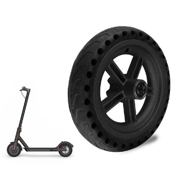 Explosion Proof Honeycomb Structure Anti-Skid Wheel Tire for Xiaomi M365 Electric Scooter