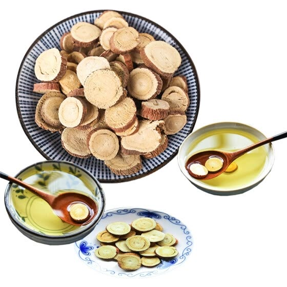 Liquorice Tea Herbal Tea China Ningxia High Quality Liquiritia Glycyrrhiza Slices Relieve Internal Heat or Fever Healthy