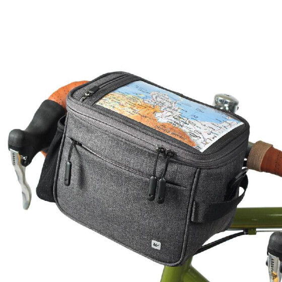 Cycling Bicycle Durable Handlebar Bar Bag Front  Strap Fixing Bag Outdoor Sports