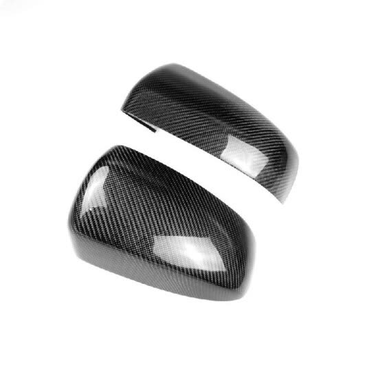 Carbon Fiber Car Wing Mirror Cover Rearview Mirror Caps Decoration Fit For BMW X5 X6 E70 E71 2007-2013