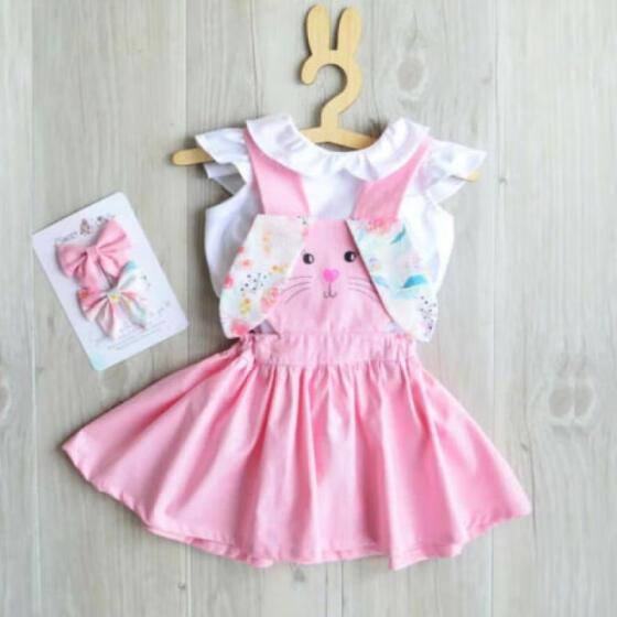 Fashion Toddler Kids Baby Girls Strap Backless Dress Sundress Summer Clothes US