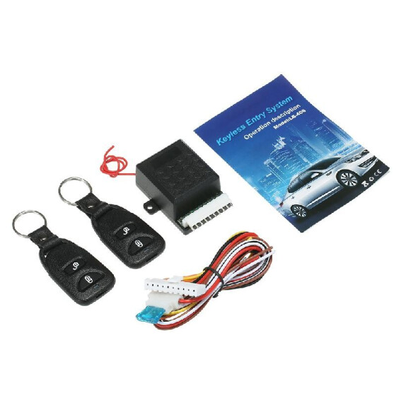 Car Keyless Entry System-Universal Car Door Lock Keyless Entry System Central Locking Remote Control Kit