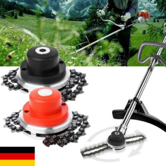 65Mn Trimmer Head Coil Chain Brush Cutter Garden Grass Durable Fit Lawn Mower !