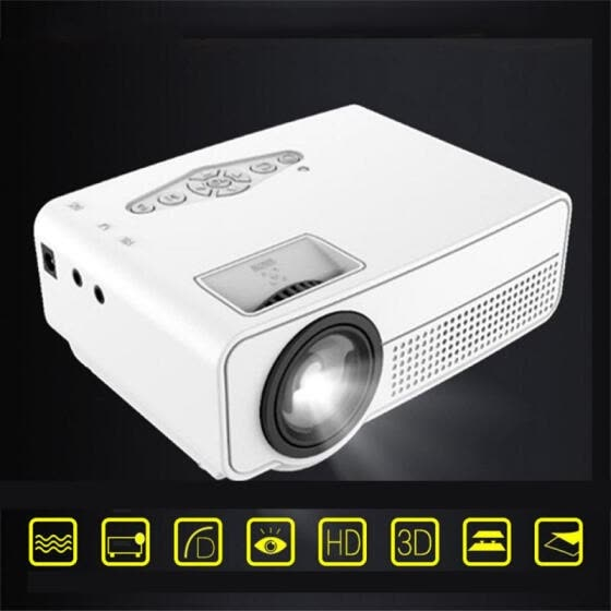S280 Portable Mini LED Cinema Video Digital 1080P HD Home Theater Projector Beamer Projector With USB HDMI