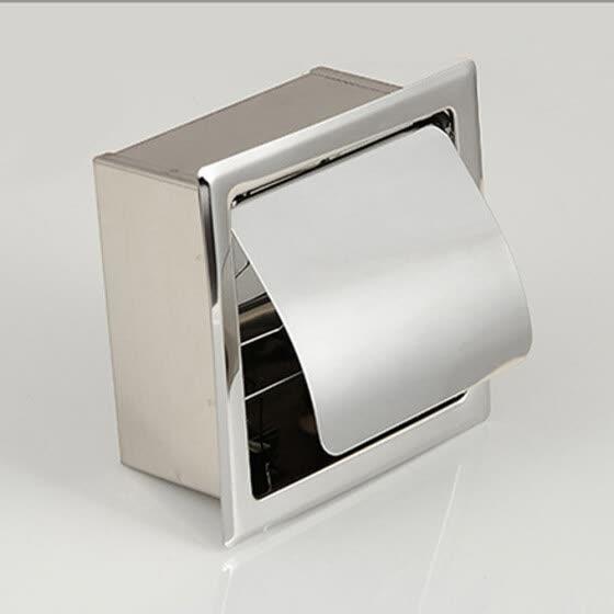 Shop Toilet Paper Holder Bathroom Wall Mount Paper Towel Dispenser ...