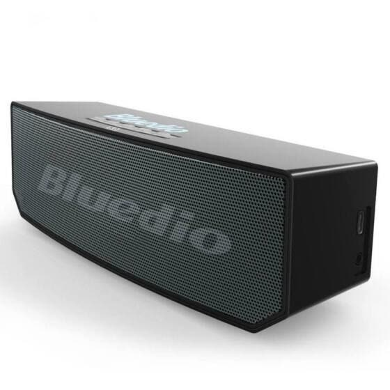Bluedio BS-6 3000mAh Mini Bluetooth Speaker Wireless Speaker With Mic Supported Voice Control Surround sound For Smartp