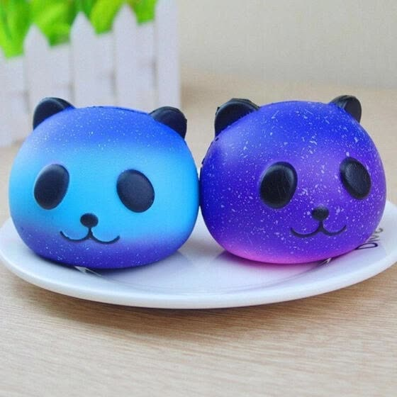 Kawaii Panda Scented Squishy Slow Rising Cute Phone Straps Pendant Soft Squeeze Toys Kids Gift