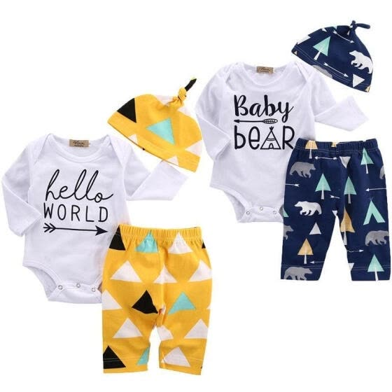 Baby Girl Coming home Outfit Baby Girl Clothes Bears Baby Girl