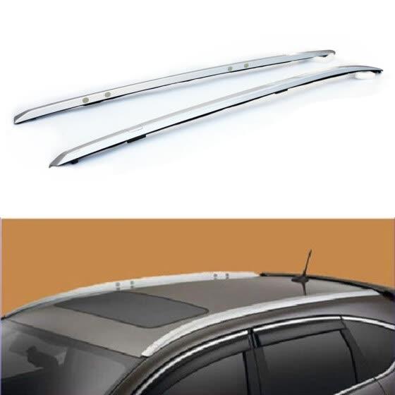 Ktaxon 1 Pair Silver Aluminum Roof Rack for 12-16 Honda CR-V Top Side Rails Cargo Carries