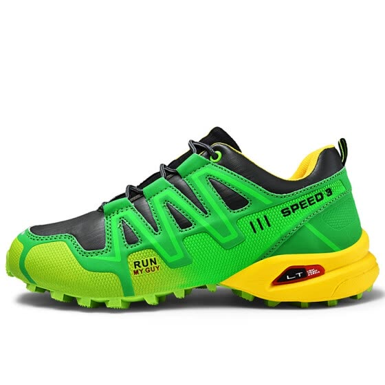 Men's outdoor sports shoes fashion large size hiking shoes Solo tide shoes