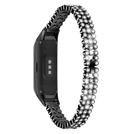 ECSEM Band Strap Stainless Steel Bangle Jewelry Bracelet Wristband Accessories for Samsung Galaxy Fit SM-R370 Smartwatch