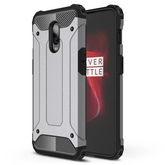 Shop Hybrid Bumper Case OnePlus 6T Soft TPU Phone Cover 1