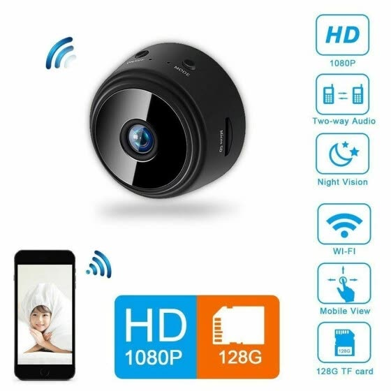 Mini IP Camera Wireless  HD 1080P Network Monitor Security Cam