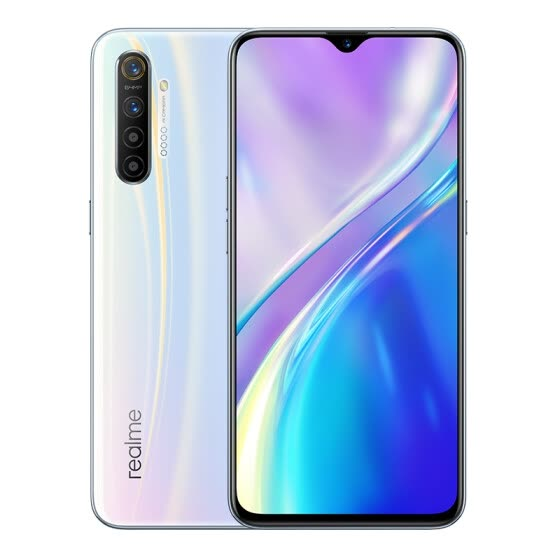 Realme X2 6 million ultra wide angle four camera 730G 30W VOOC4.0 flash charge 4000mAh long battery life 8GB+128GB silver