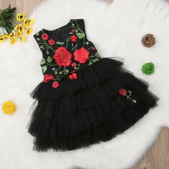 Dsood Toddler Dress Baby Girls Dress Lemon Peach Dress Splice Denim Dresses Sleeveless Infant Princess Vest Dress