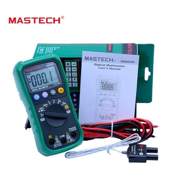 Shop Digital Multimeter MASTECH MS8239C AC DC Voltage