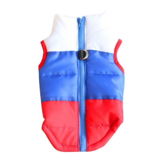 Small Pet Dog Clothes Soft Padded Vest Harness Puppy Doggy Warm Clothes Dog Coat