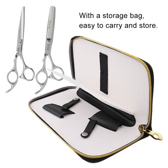 Greensen Professional Hairdressing Scissors Kit Salon Hair Cutting Thinning Shears Tool Set