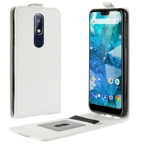 for Nokia 7.1 WIERSS Flip Leather Case for Nokia 7.1 TA-1085 TA-1095 TA-1096 TA-1100 Retro Wallet Case Leather Cover Cases>