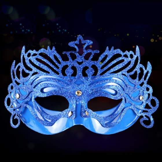 Many memories of Christmas decorations Christmas tree set ornaments children Christmas gifts decorations Christmas dresses shiny party mask Lake Blue