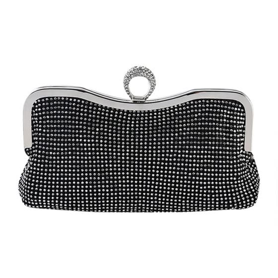 Women Evening Clutch Bags Diamond-Studded Evening Bag With Chain Shoulder Bag Lady Handbags Wallets Evening Bag For Wedding #T3G