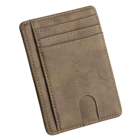 〖Follure〗New Men's Leather Wallet Thin Credit Card Holder ID Case Purse Bag