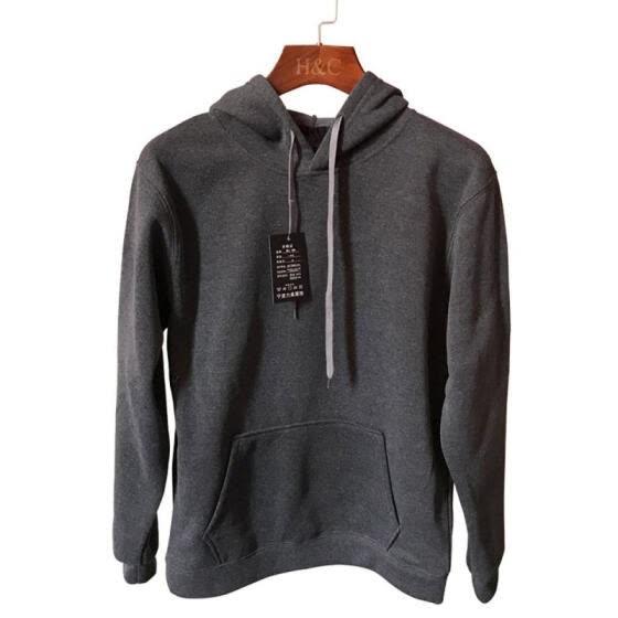 Мода новый мужской свитер с капюшоном с длинным рукавом толстовки вокруг шеи повседневные сплошной цвет кофты для мужчин