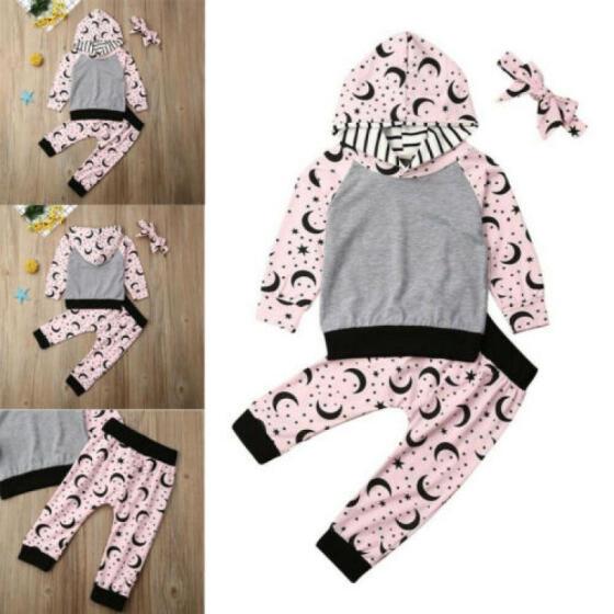Newborn Baby Girls Outfit Clothes T-shirt Tops+Short Pants Trousers 2PCS Set