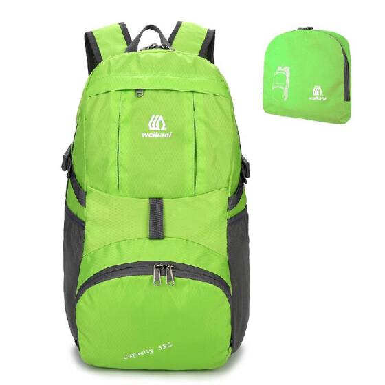 3197579747 Lightweight Nylon Foldable Backpack Water-resistant Backpack Folding Bag  Portable Men Women Backpack for Travel