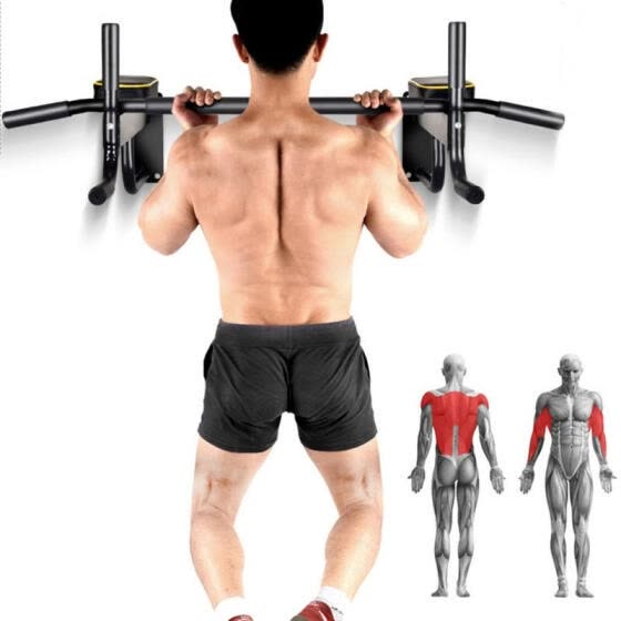 la meilleure attitude technologies sophistiquées Vente chaude 2019 Shop Greensen Wall Mounted Pull Up Bar Indoor Chin Up ...