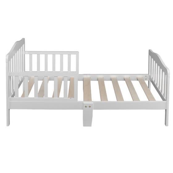 Shop Baby Toddler Bed Kids Children Wood Bedroom Furniture ...