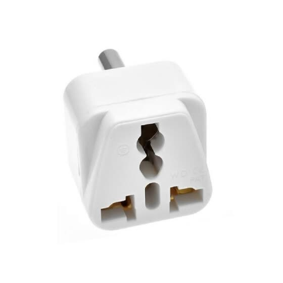 South African Switch Plug Converter Type M Plug Adapter Safe Grounded Small Travel Adapter Plug for South African/Indian Travel Po