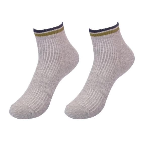 Short Pure Color Sports Socks Simple Fine Quality Middle Tube Socks for Men with One size
