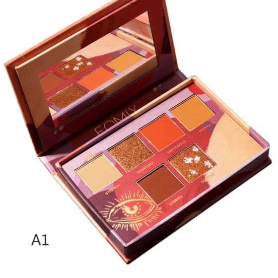 Beautiful Eyeshadow Palette Shimmer Matte Waterproof Long Lasting Smudge-proof Eye Shadow Powder Eyes Makeup