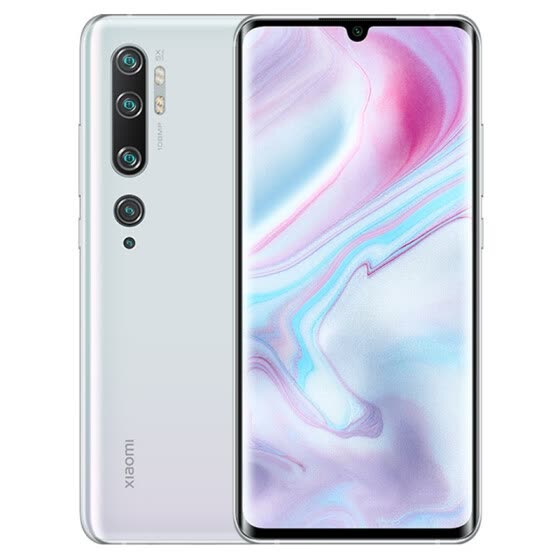 Mi CC9 Pro 1 billion pixels five camera four flash 10 times hybrid optical zoom 5260mAh 730G ice snow aurora 6GB+128GB game