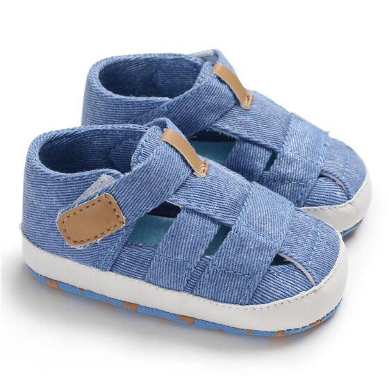 Summer Newborn Baby Boy Girl Sandals Soft Sole Crib Shoes Sneaker Prewalker