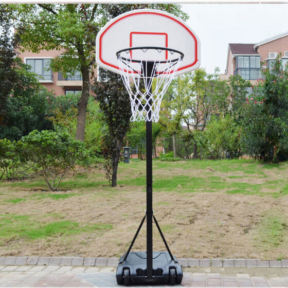 NEW PORTABLE /& FREE STANDING FULL SIZE BASKETBALL HOOP /& NET INC ADJUSTABLE STAND /& BACKBOARD PROFESSIONAL