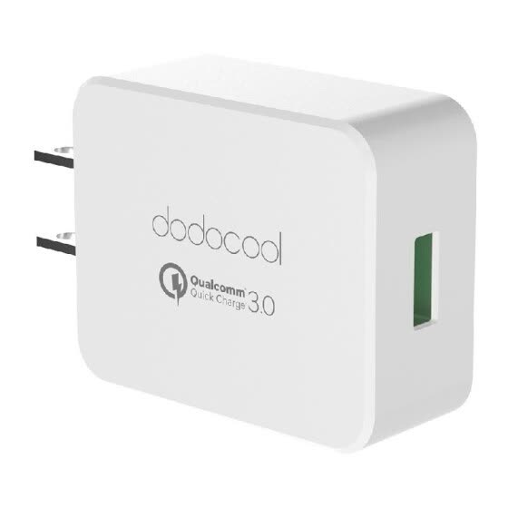 [Qualcomm Quick Charge 3.0] dodocool Quick Charge 3.0 18W USB Wall Charger for LG G5 / HTC One A9 / Sony Xperia Z4 Tablet / Xiaomi